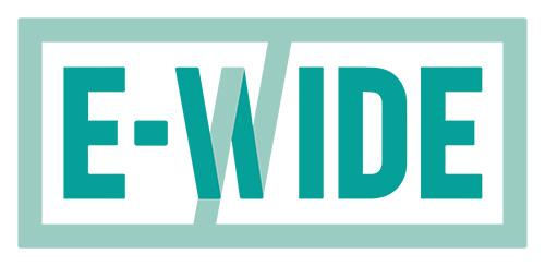 E-wide logo